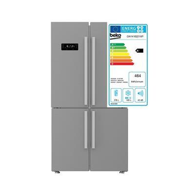 Beko Ameriški hladilnik GN1416221XP