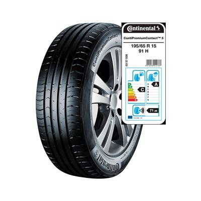 Continental 4 letne pnevmatike 195/65R15 91H ContiPremiumContact 5
