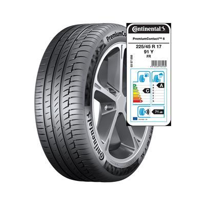 Continental 4 letne pnevmatike 225/45R17 91Y FR PremiumContact 6