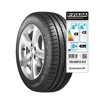 Fulda 4 letne pnevmatike 195/65R15 91H Ecocontrol HP