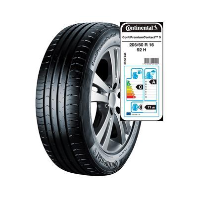 Continental 4 letne pnevmatike 205/60R16 92H ContiPremiumContact 5