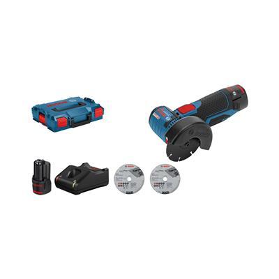 Bosch Akumulatorski kotni brusilnik GWS 12V-76, L-Boxx
