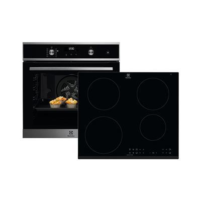Electrolux Komplet indukcijska kuhalna plošča LIR60433 in električna pečica EOD6P71X