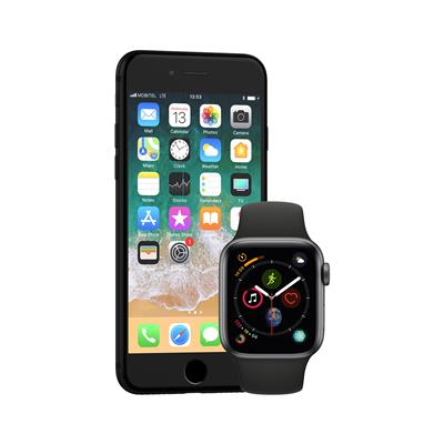 Apple iPhone 8 in pametna ura Watch Series 4 GPS 40mm Sport Band