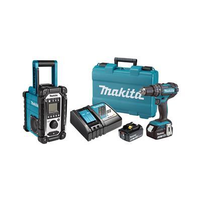 Makita Set orodja DHP482RFE in DMR107