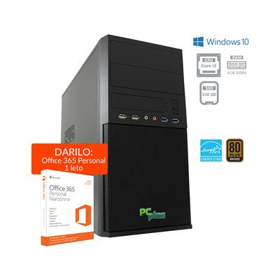 PCplus e-office i3-8100 Windows 10