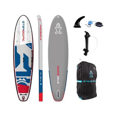 Starboard SUP deska 11.2X32X6 iGo Deluxe 2020 z veslom Tufskin
