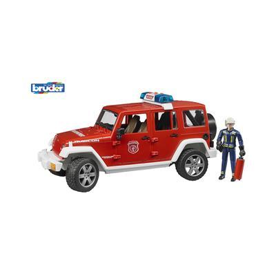 Bruder Gasilsko vozilo Jeep Wrangler s figurico 02528