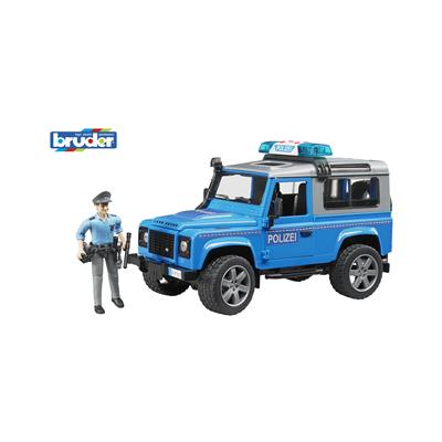 Bruder Policijsko vozilo Land Rover Defender  02597