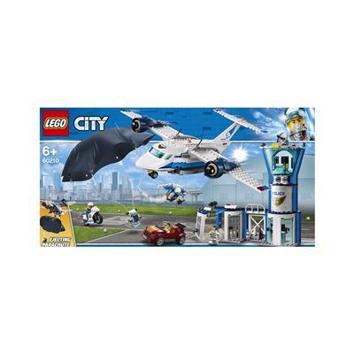 LEGO City Zračna postojanka zračne policije 60210