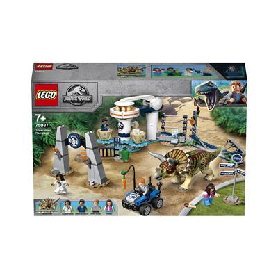 LEGO Jurassic World Triceratopov pohod 75937