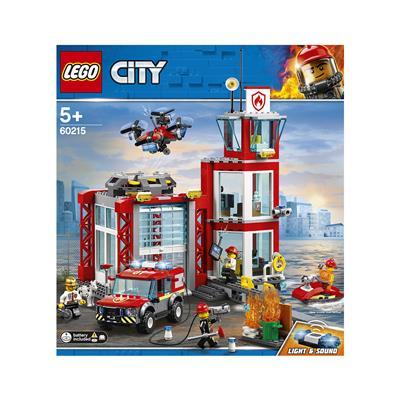 LEGO City Gasilska postaja 60215