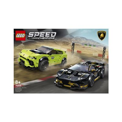 LEGO Speed Lamborghini Urus ST-X in Lamborghini Huracán Super Trofeo EVO 76899