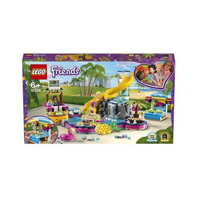 LEGO Friends Andrejina zabava na bazenu 41374