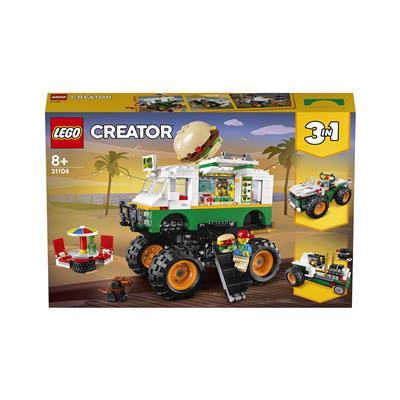 LEGO Creator Pošastni tovornjak s hamburgerji 31104