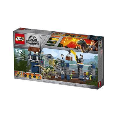 LEGO Jurassic World Dilofozavrov napad na oporišče 75931