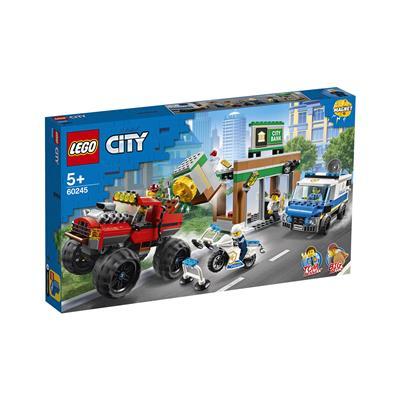 LEGO City Rop banke s pošastnim tovornjakom 60245