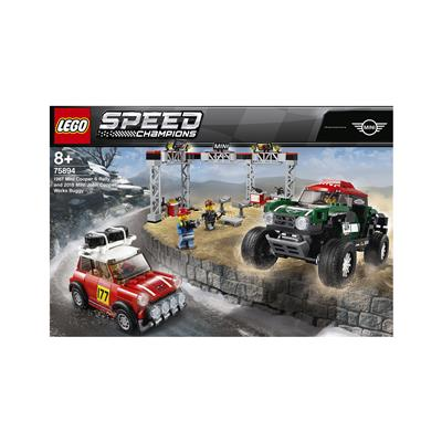 LEGO Speed Champions 1967 Mini Cooper S Rally in 2018 MINI John Cooper Works Buggy 75894