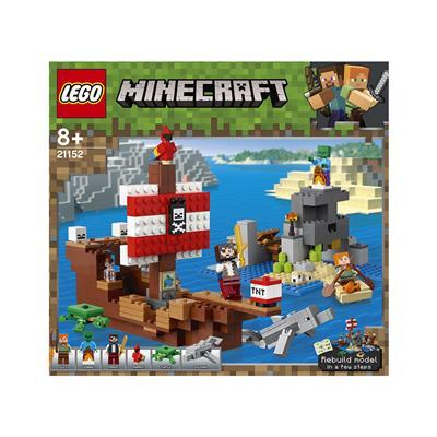 LEGO Minecraft Dogodivščina s piratsko ladjo 21152