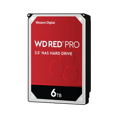 Western Digital Vgradni disk za NAS sisteme WD RED (WD60EFAX)