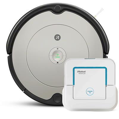iRobot Robotski sesalnik Roomba 694 in robotski čistilnik Braava Jet 250