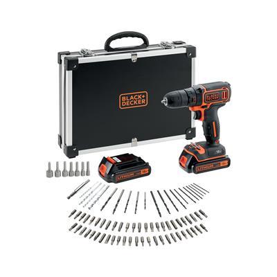Black & Decker Akumulatorski vrtalnik 18 V s priborom (BDCDC18BAFC)