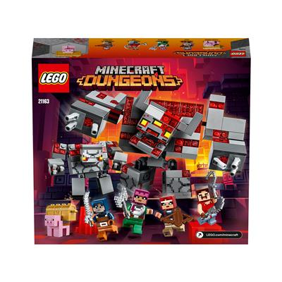 LEGO Minecraft Bitka z rdečekamni 21163
