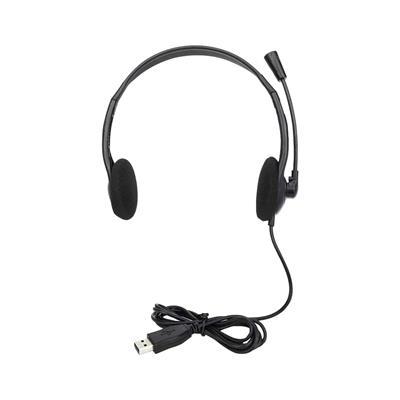 MANHATTAN Stereo USB slušalke z mikrofonom 179850