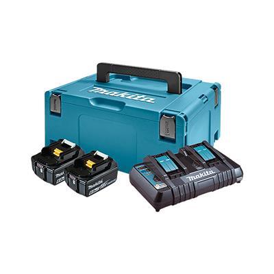 Makita LXT power set v kovčku Makp. Tip3,BL1860Bx2,DC18RD 198077-8