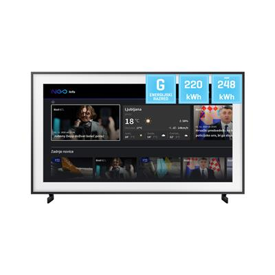 Samsung QLED Frame TV QE75LS03TAUXXH 4K