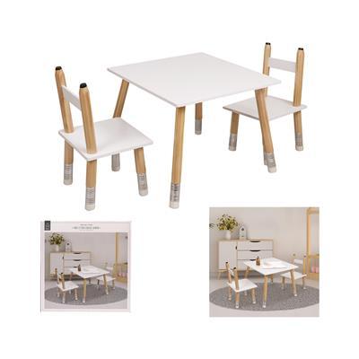 Home Deco Kids Otroški set Deco, mizica in 2 stola