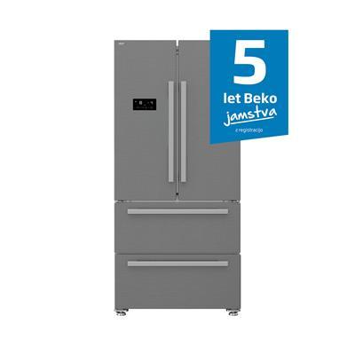 Beko Ameriški hladilnik GNE60531XN