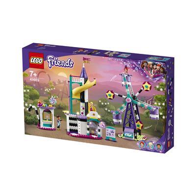 LEGO Friends Čarovniškoveliko kolo in tobogan 41689