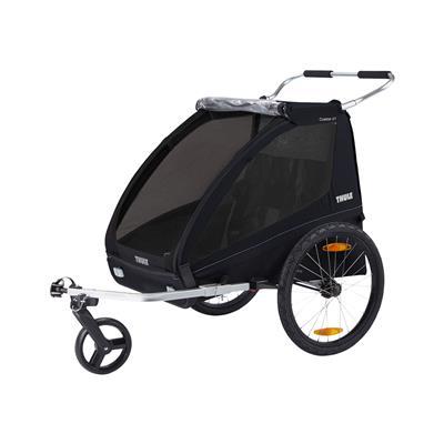 Thule Otroška kolesarska prikolica Coaster XT dvosed