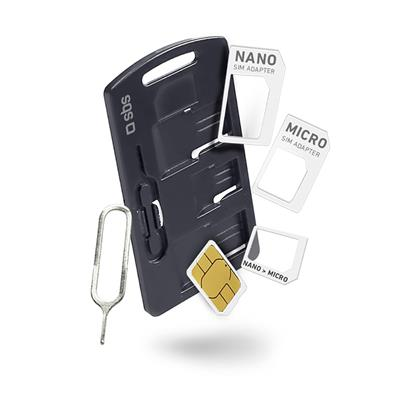 SBS Set SIM adapterjev (TEKITSIMADAPTK)
