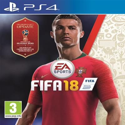 EA Sports FIFA 18 Standard Edition - za PS4