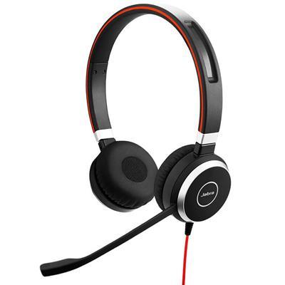 Jabra Naglavne slušalke Evolve 40 MS Duo USB z 3,5 mm konektorjem