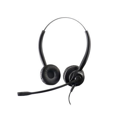 Xenexx Naglavne slušalke XS-825 DUO s Smart cord priključno vrvico