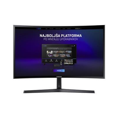 Samsung Ukrivljen monitor LC24F396FHUXEN