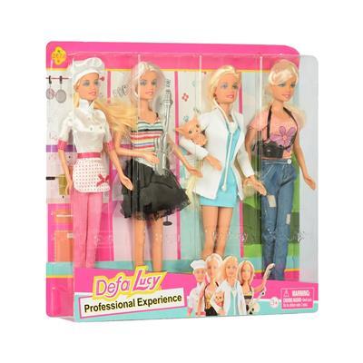 DEFA Set štirih punčk