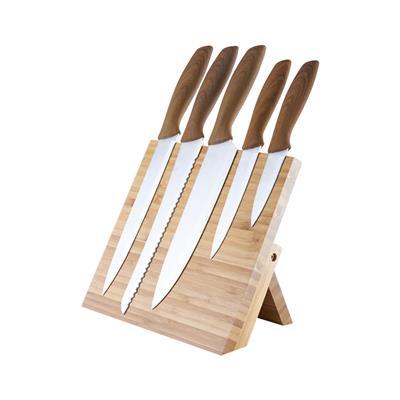 Platinet 5-delni set kuhinjskih nožev z magnetnim nosilcem (PKSB5W)