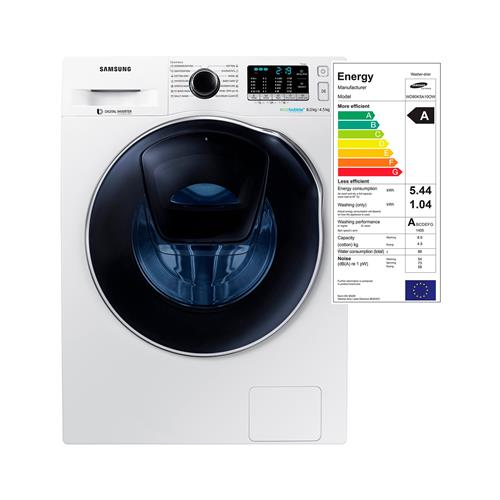 Samsung Pralno-sušilni stroj WD80K5A10OW