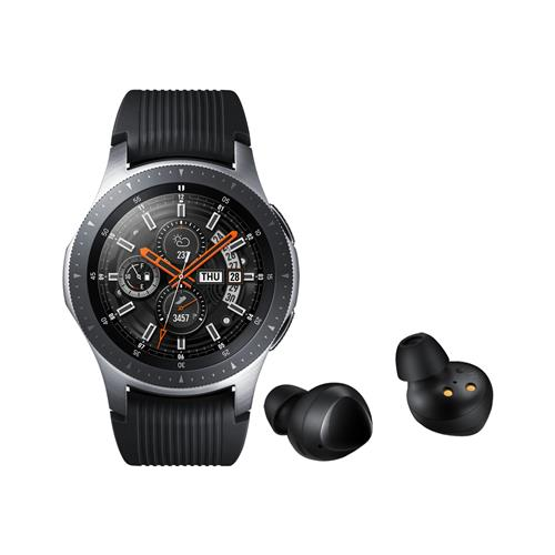 Samsung Komplet pametna ura Galaxy Watch 46mm (SM-R800) in brezžične slušalke Galaxy Buds (SM-R170)