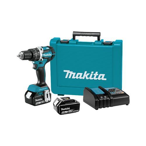 Makita Akumulatorski vibracijski vrtalnik-vijačnik DHP484RTE