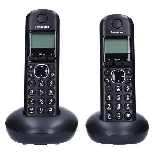 Panasonic Brezvrvični telefon KX-TGB212FXB