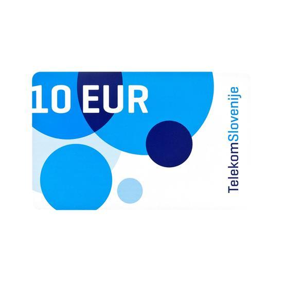 Telekom Slovenije Vrednostna kartica MOBI 10 EUR
