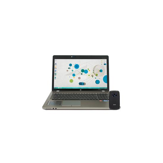 HP 4730S (MS Windows 8) + ZTE MF60 uFI