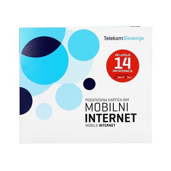 Telekom Slovenije Predplačniški mobilni internet + Huawei E3372H + SIM 14 dni