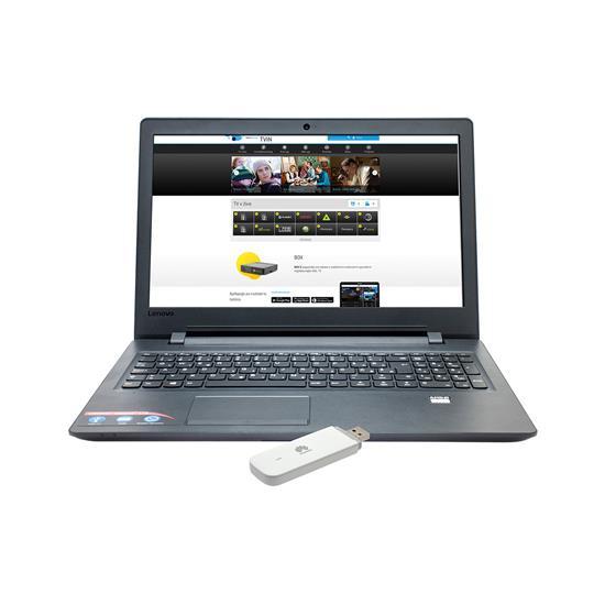 Lenovo IdeaPad 110 + Huawei E3372H
