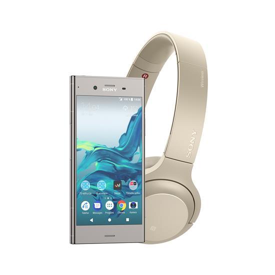 Sony Xperia XZ1 + brezžične slušalke Sony h.ear on 2